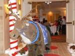 Life size reindeer