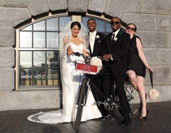 Brittany and Jamahl Thomas at Liberty Hotel Boston